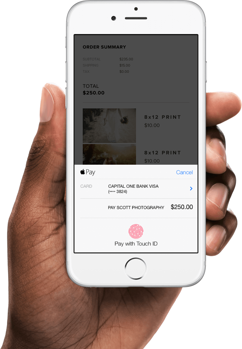 Pixieset - Apple Pay for your Store