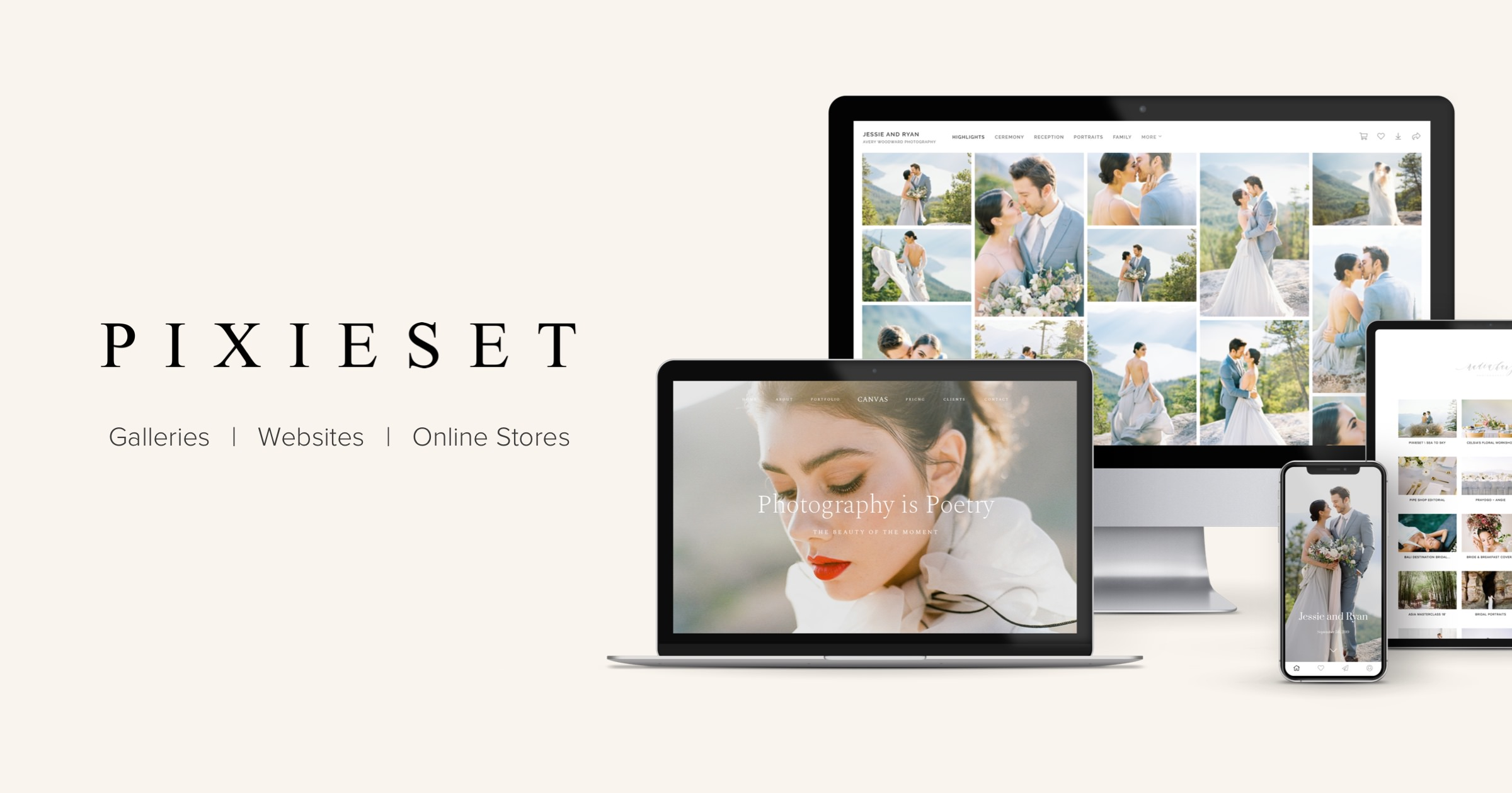 Pixieset Client Photo Gallery For Modern Photographers