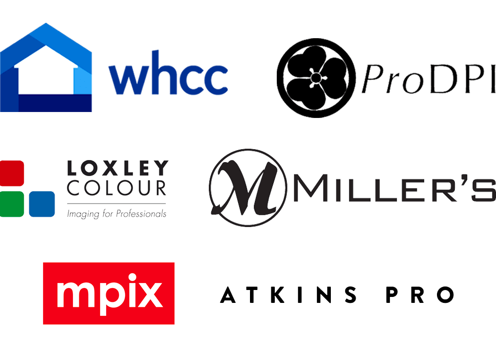 Lab Fulfillment with WHCC, ProDPI, Loxley Colour, Miller's and Mpix